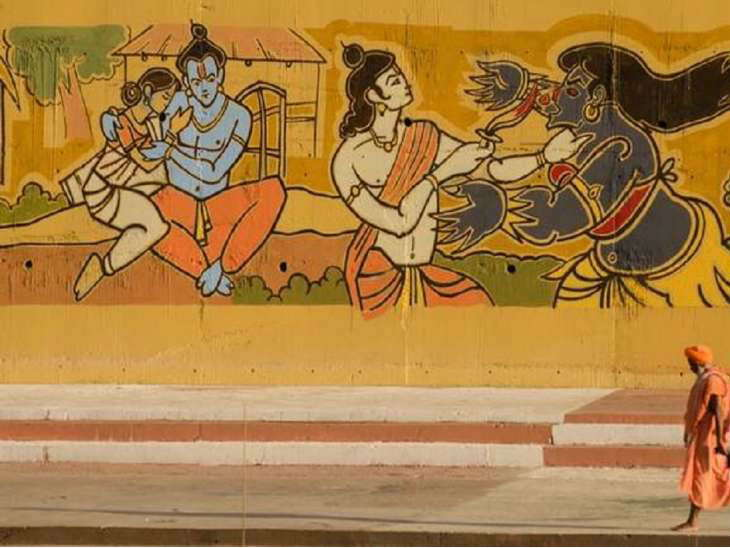 painting-on-the-walls-before-kumbh-in-prayagraj