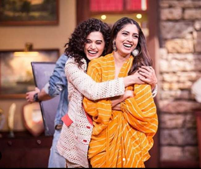 taapsee-pannu-and-bhumi-pednekar-fight-on-saand-ki